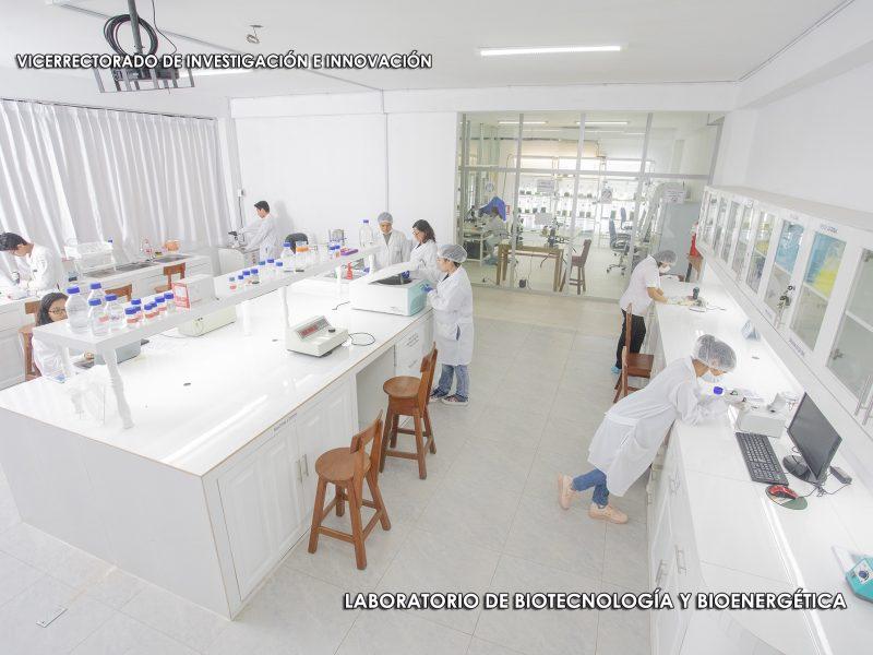 LABORATORIO DE BIOTECNOLOGIA Y BIOENERGETICA